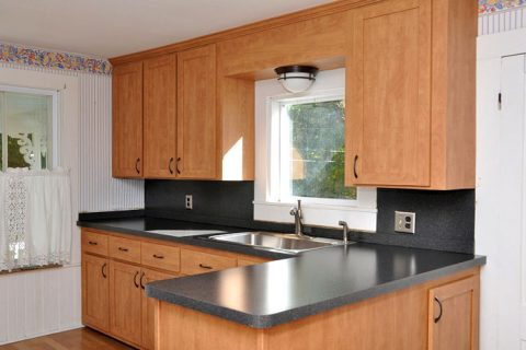 Kitchen Refacing Project – Oxford, MA