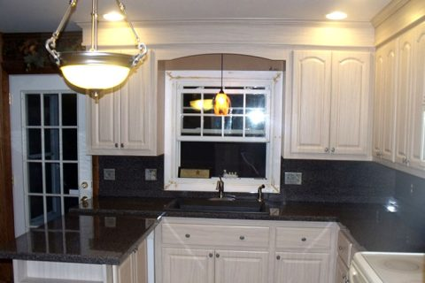 Kitchen Refacing Project – Wilmington, MA